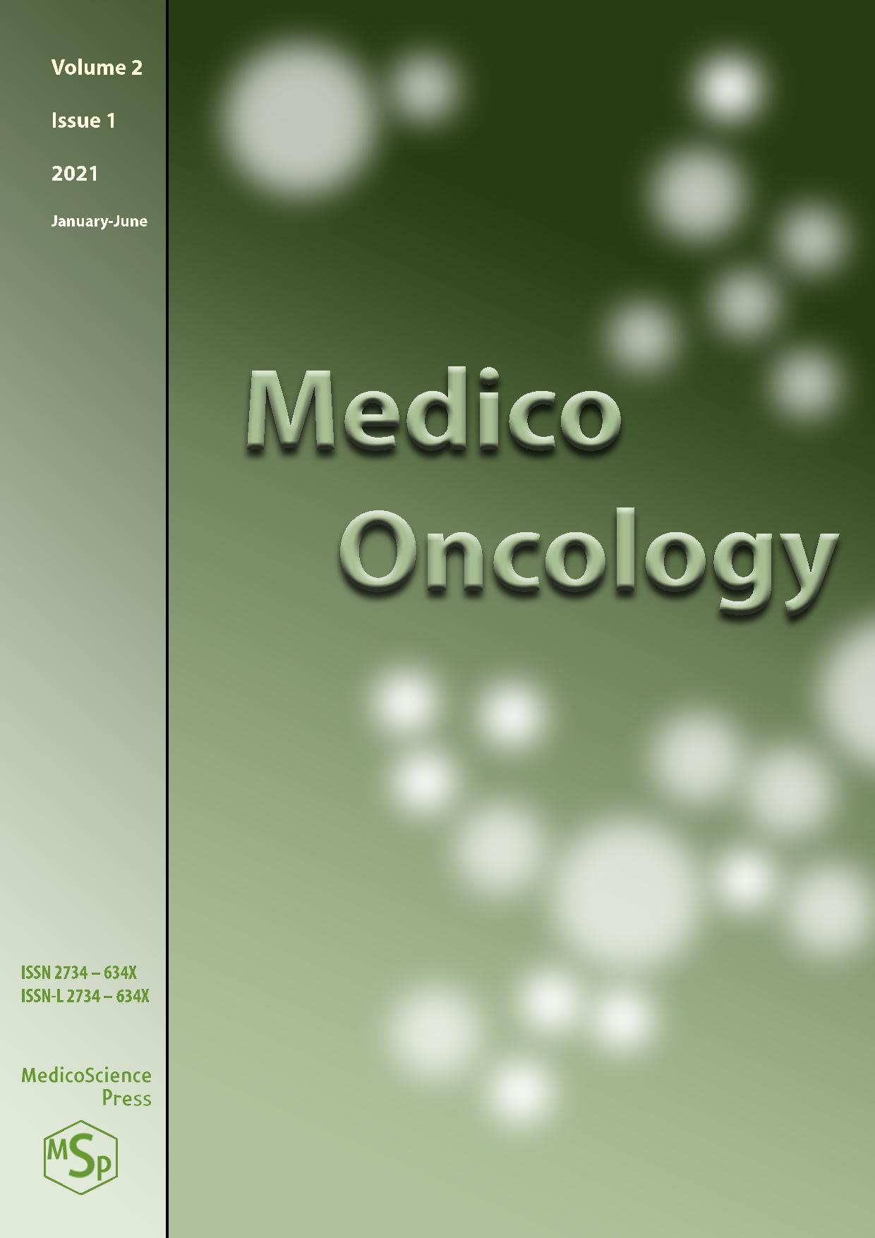 View Vol. 2 No. 1 (2021): Medico Oncology